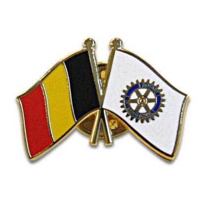 Rotary Pin Belgian flag