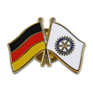 Pin Rotary avec le drapeau de l'Allemagne