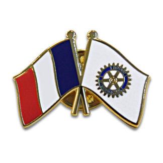 Pin Rotary avec le drapeau français