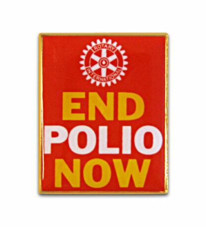 Rotary 'End Polio Now' Pin