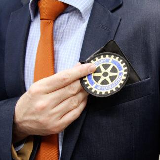 Clip-on badge
