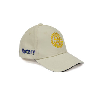 Embroidered Cap beige Rotary