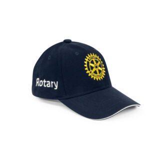 Casquette Rotary logo brodé