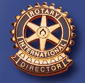 Rotary pin de fonction directeur du Rotary service club