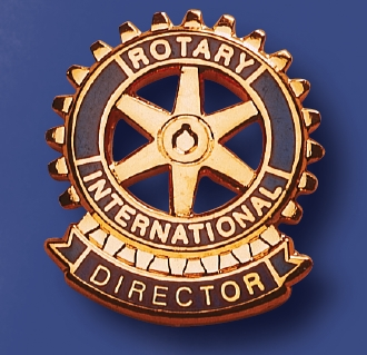 Function pin for the Director of a Rotary service club