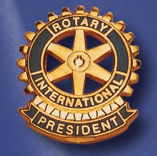 Rotary pin de fonction président