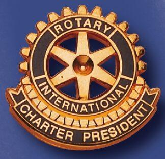 Pin de fonction pour président fondateur du Rotary club