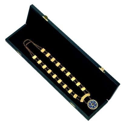 Gift box President or Governor necklace Rotary