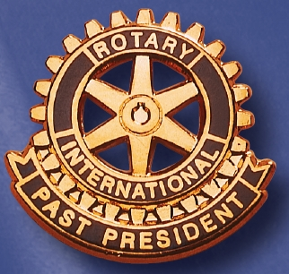 Function pin past president