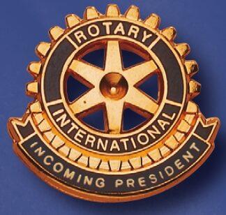 Pin de fonction Rotary pour le président entrant