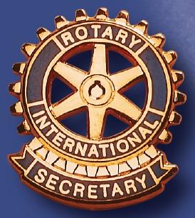Rotary pin de fonction secrétaire