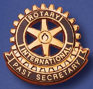 Pin de fonction du Rotary ancien-secrétaire