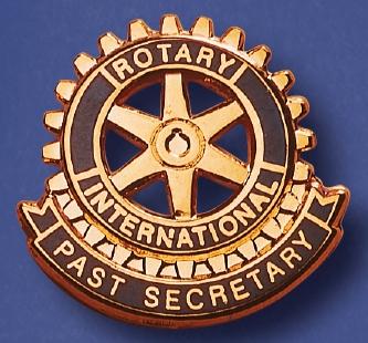 Rotary function pin past secretary