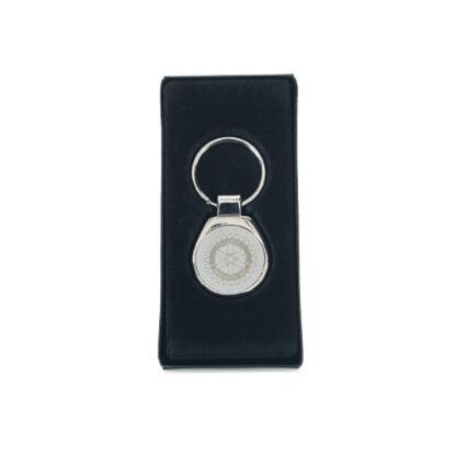 Porte-clés Rotary avec gravure du logo