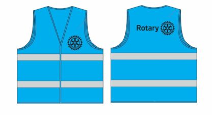 Rotary Veste Fluorescente imprimé