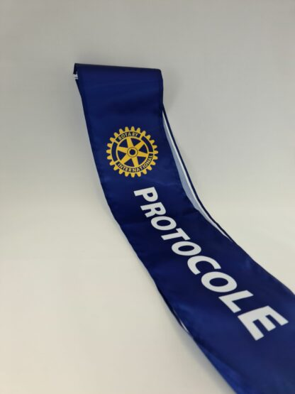 'Protocol' sash Rotary