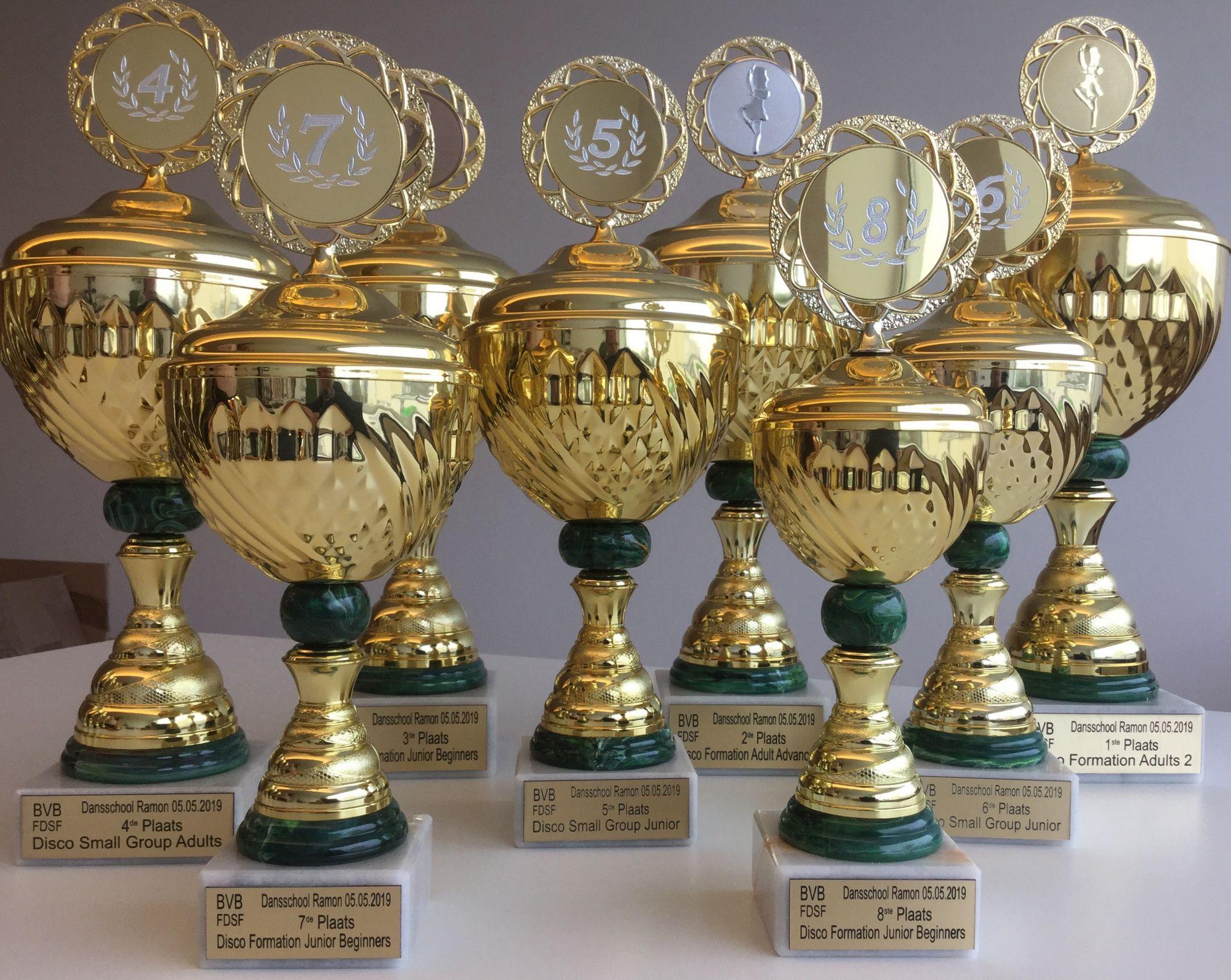 Sport trofeeën Tinko