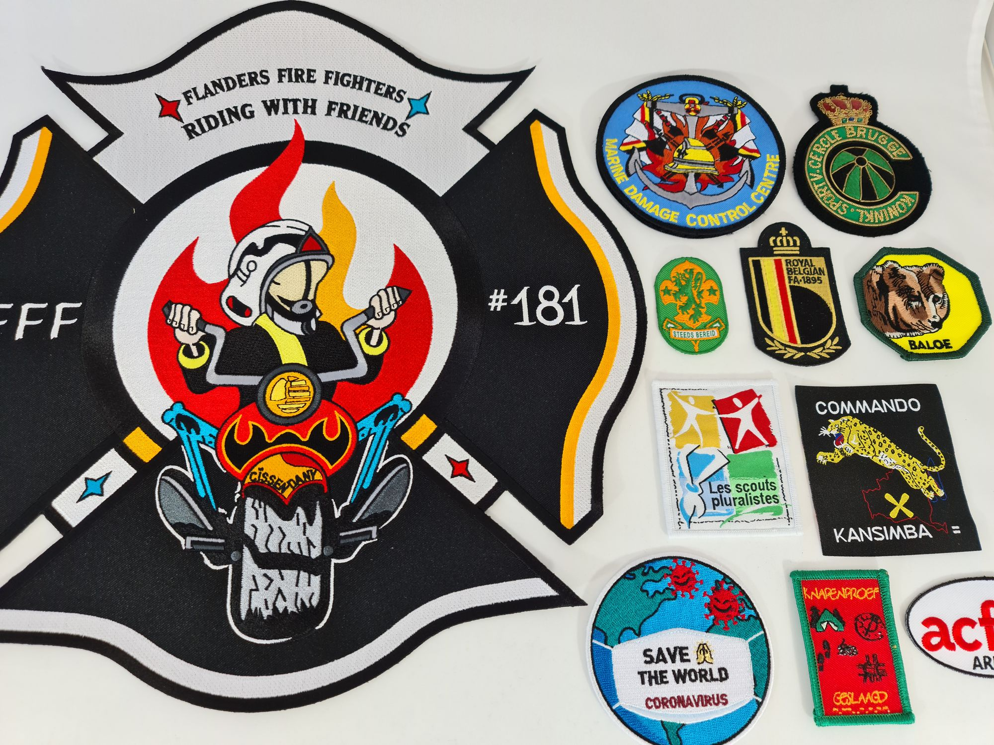 Aabod (Geborduurde) badges