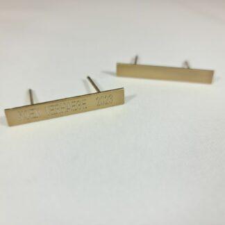 Barrett for ribbon 40x5 mm