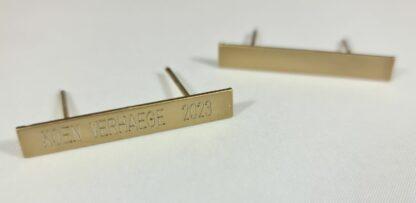 Baret voor lint 40x5 mm