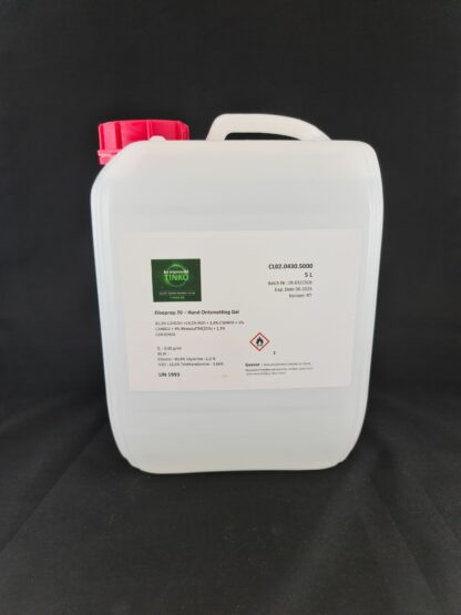 Disoprop 70 - Hand disinfectant gel - 5 litres