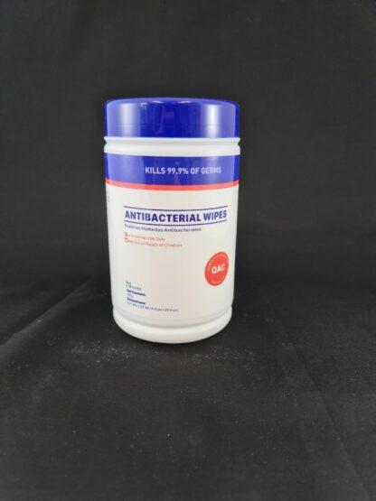 Lingettes humides antibactériennes
