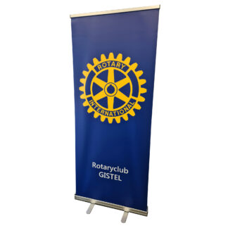 Rollup banner Rotary Service club