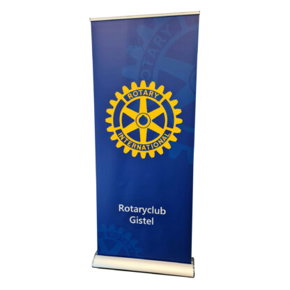 Rotary Rollup banner Business